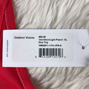 Outdoor Voices Intimates & Sleepwear - NWT Outdoor Voices Dive Top